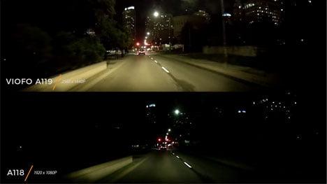 Camera hành trình ban đêm