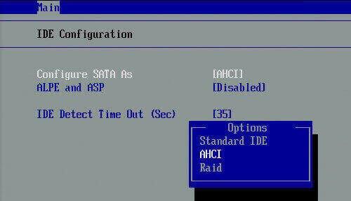 cài đặt ổ cứng SSD