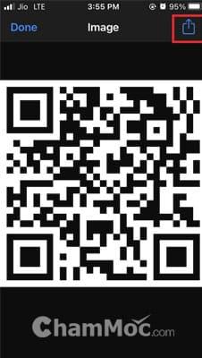 Chia sẻ mật khẩu WiFi qua mã QR hình 11