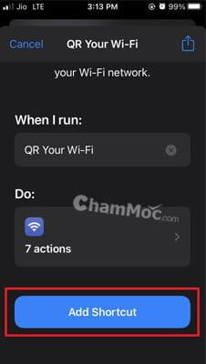 Chia sẻ mật khẩu WiFi qua mã QR hình 4