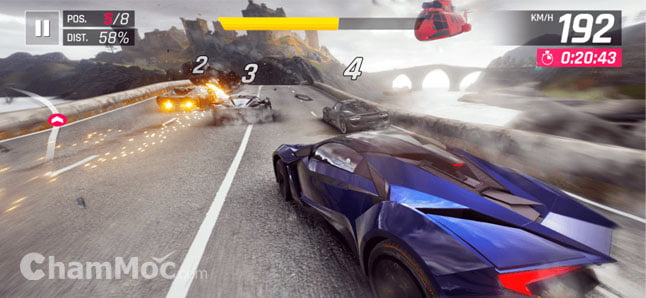 Game đua xe hay cho Android hình 1