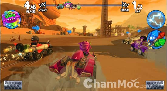 Game đua xe hay cho Android hình 10