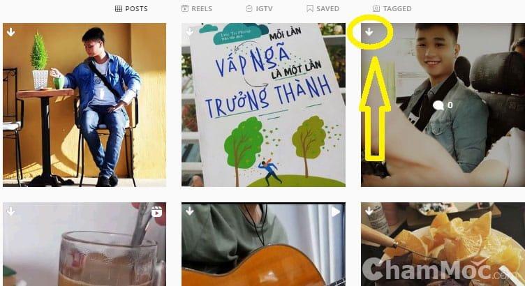 Tải ảnh Instagram về máy tính 02
